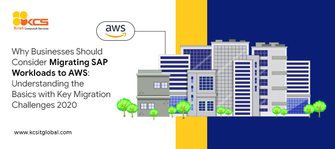 SAP workload migration into AWS