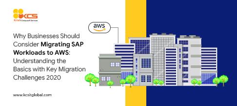 SAP workload migration into AWS