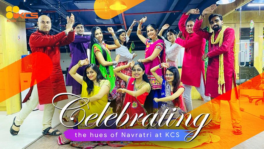 Celebrating the hues of Navratri at KCS
