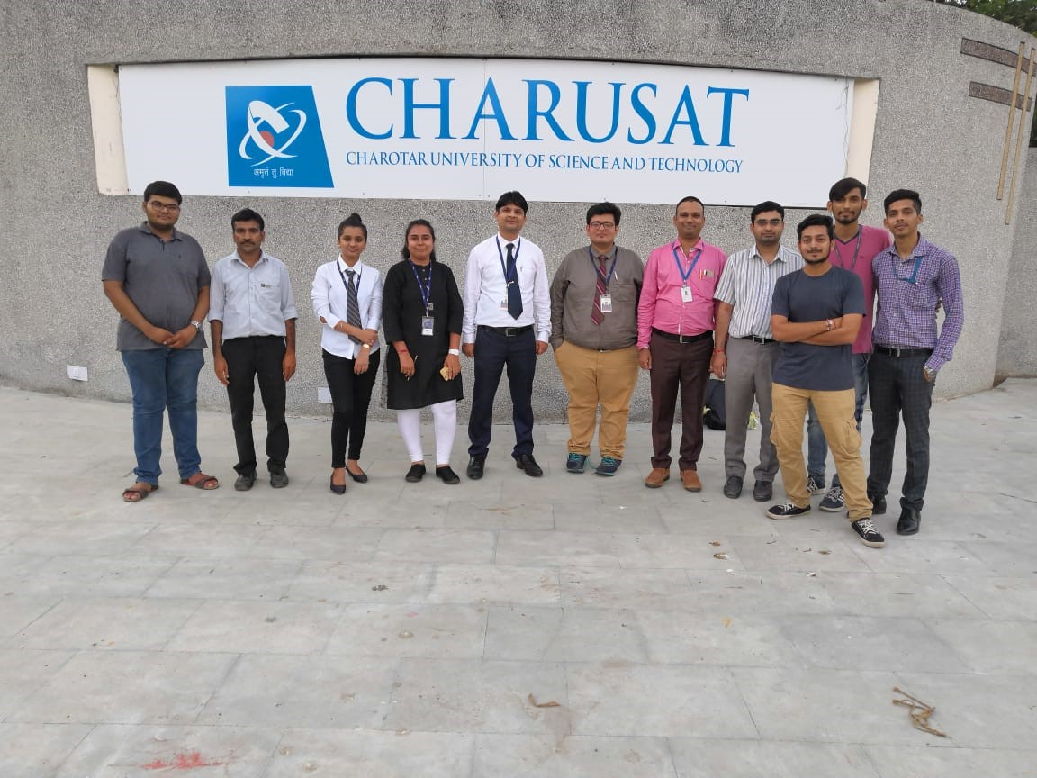 campus interview at charusat university