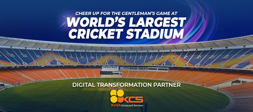 We are the Proud Digital Transformation Partner of World's Largest Cricket Stadium